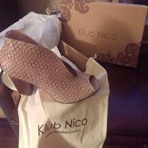 Klub Nico Aria booties